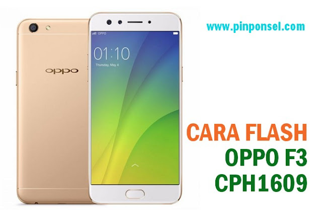 cara flash oppo f3 cph1609 tanpa pc via sd card