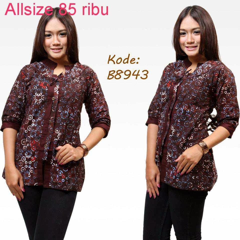 Download Baju Batik Wanita: Baju Model Batik Terbaru