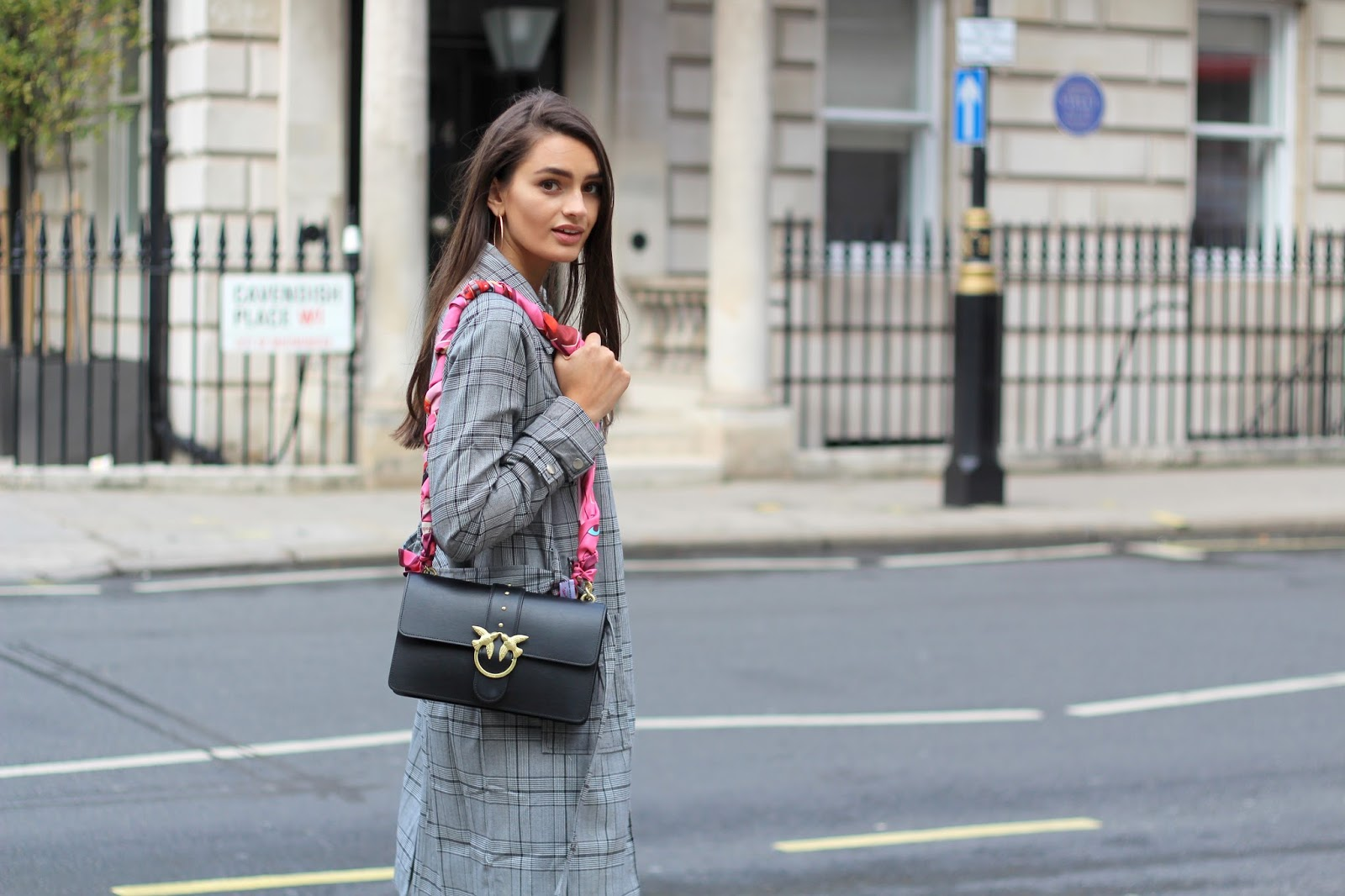 peexo london blogger pinko bag fashion