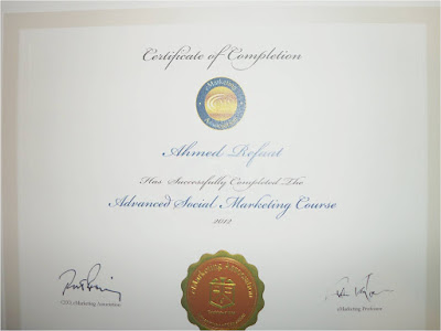 Advanced Social Media Course Certificate - eMarketing Association