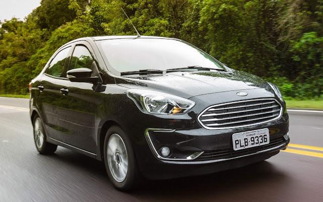 Ford Ka - 2º carro mais vendido do Brasil em 17 dias