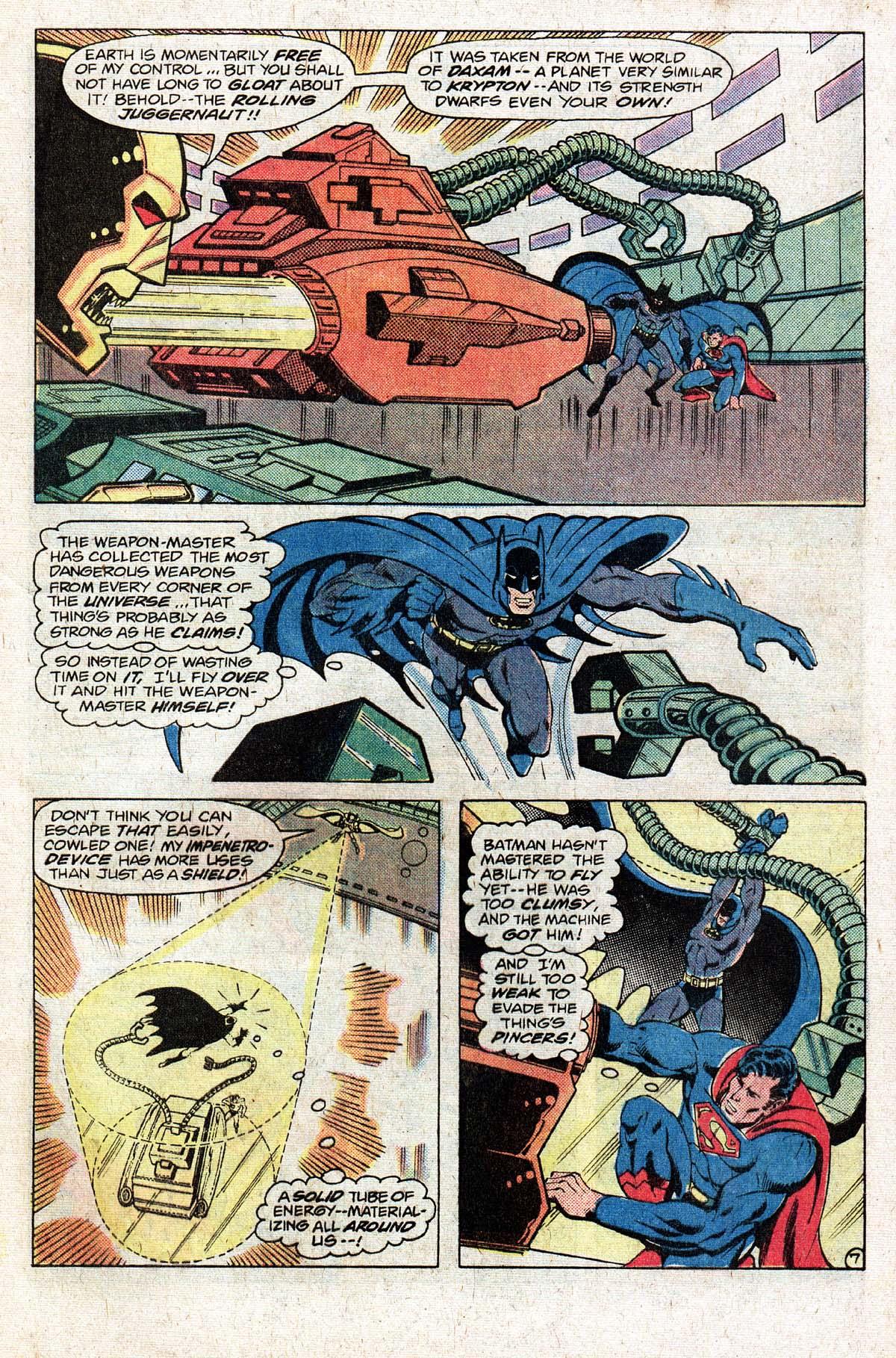 Read online World's Finest Comics comic -  Issue #274 - 9