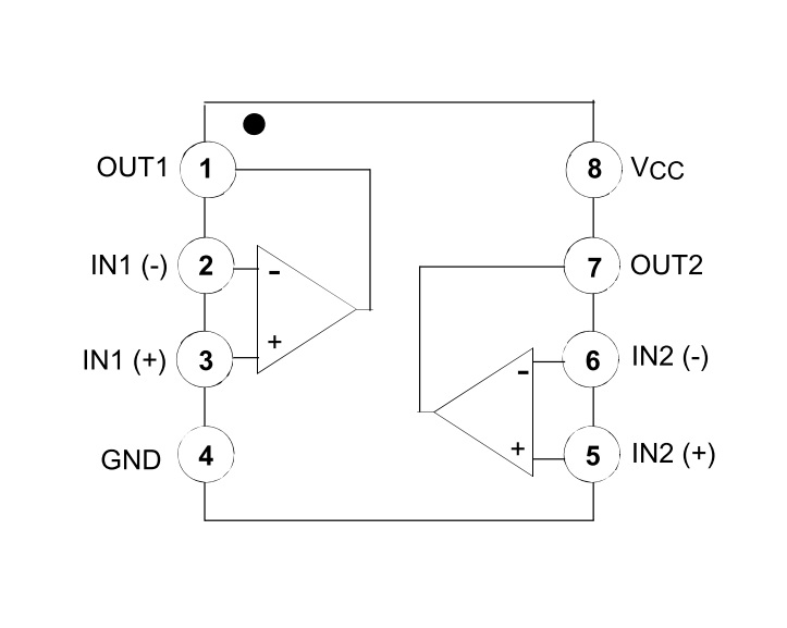 Dictionary of Electronic Components: LM358