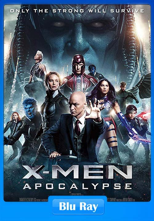 X-Men Apocalypse 2016 Hindi 720p ORG BDRip Dual Audio | 480p 300MB | 100MB HEVC