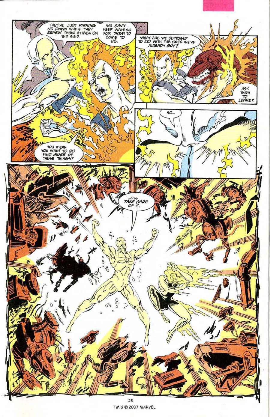 Read online Silver Surfer (1987) comic -  Issue #68 - 27