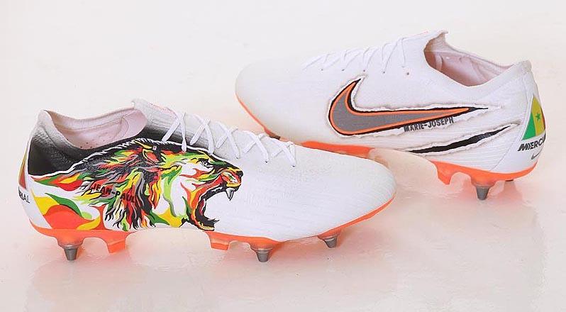 Matrona proteína Hobart  Football teams shirt and kits fan: Salif Sané Custom Nike Mercurial Vapor  360 Boots