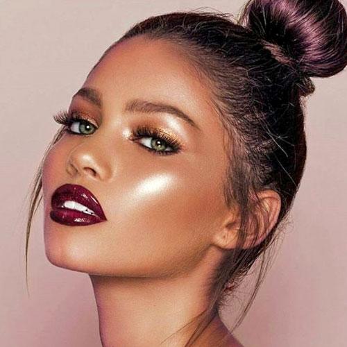 tendencias iluminador maquillaje 2018