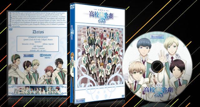 Starmyu 2nd Season   Cover DVD  