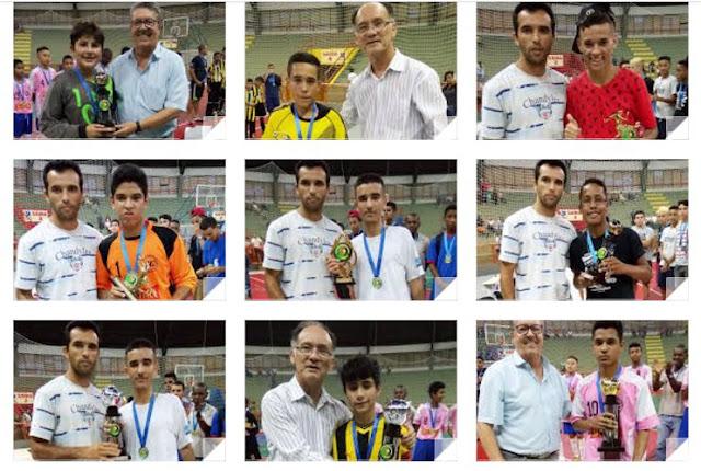 Fênix vence o Municipal de Futsal de Base nas categorias Sub 13 e Sub 17 em Registro-SP