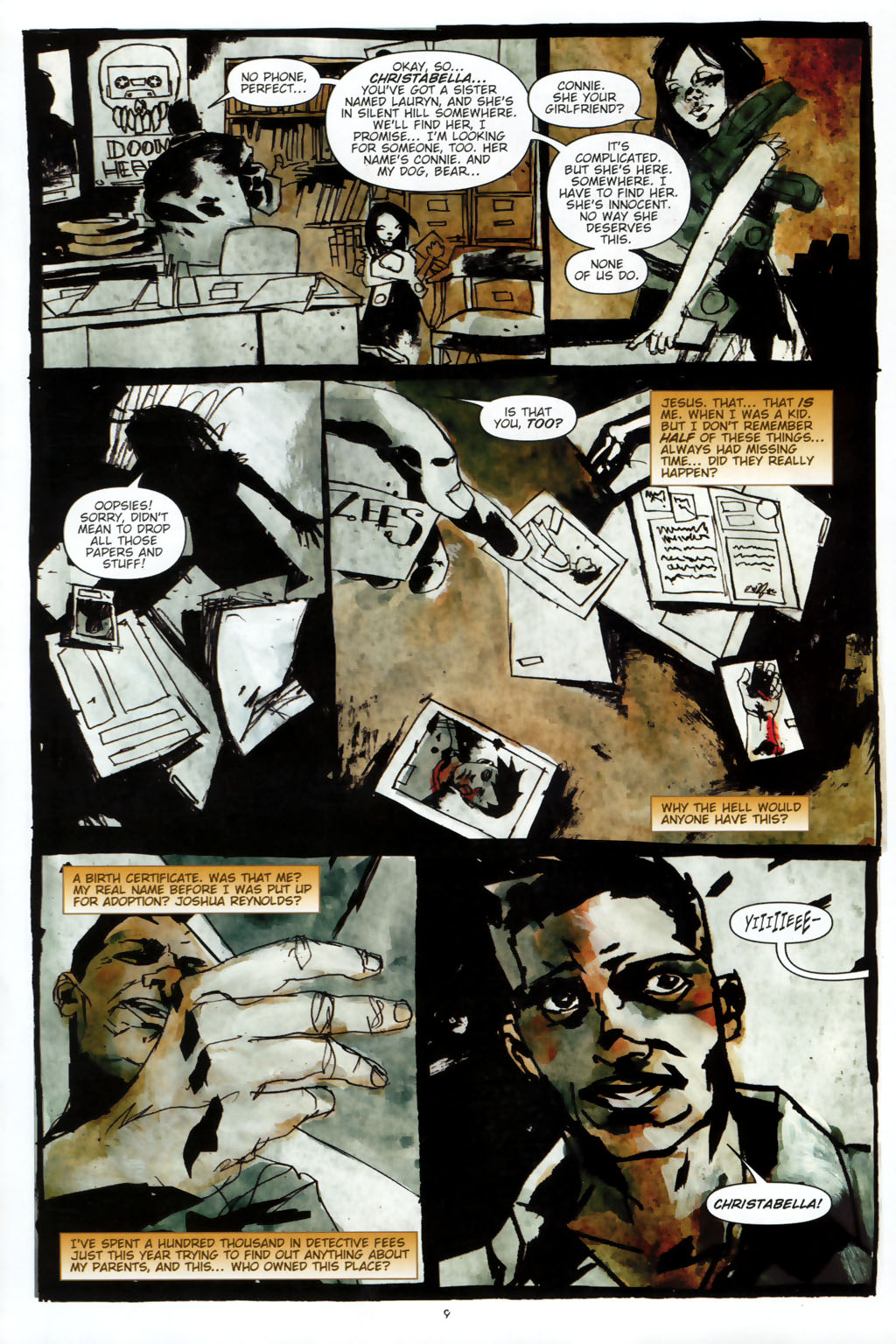 Read online Silent Hill: Dead/Alive comic -  Issue #2 - 11
