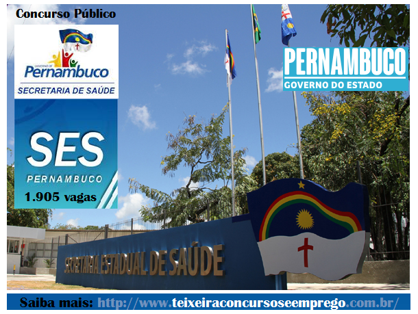 Apostila Impressa SES-PE - Secretaria de Saúde do Estado de Pernambuco - 2014