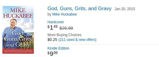 God, Guns, Grits and Gravy - $1.49