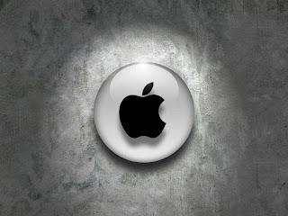 3D apple logo and i-pad laptop logo img