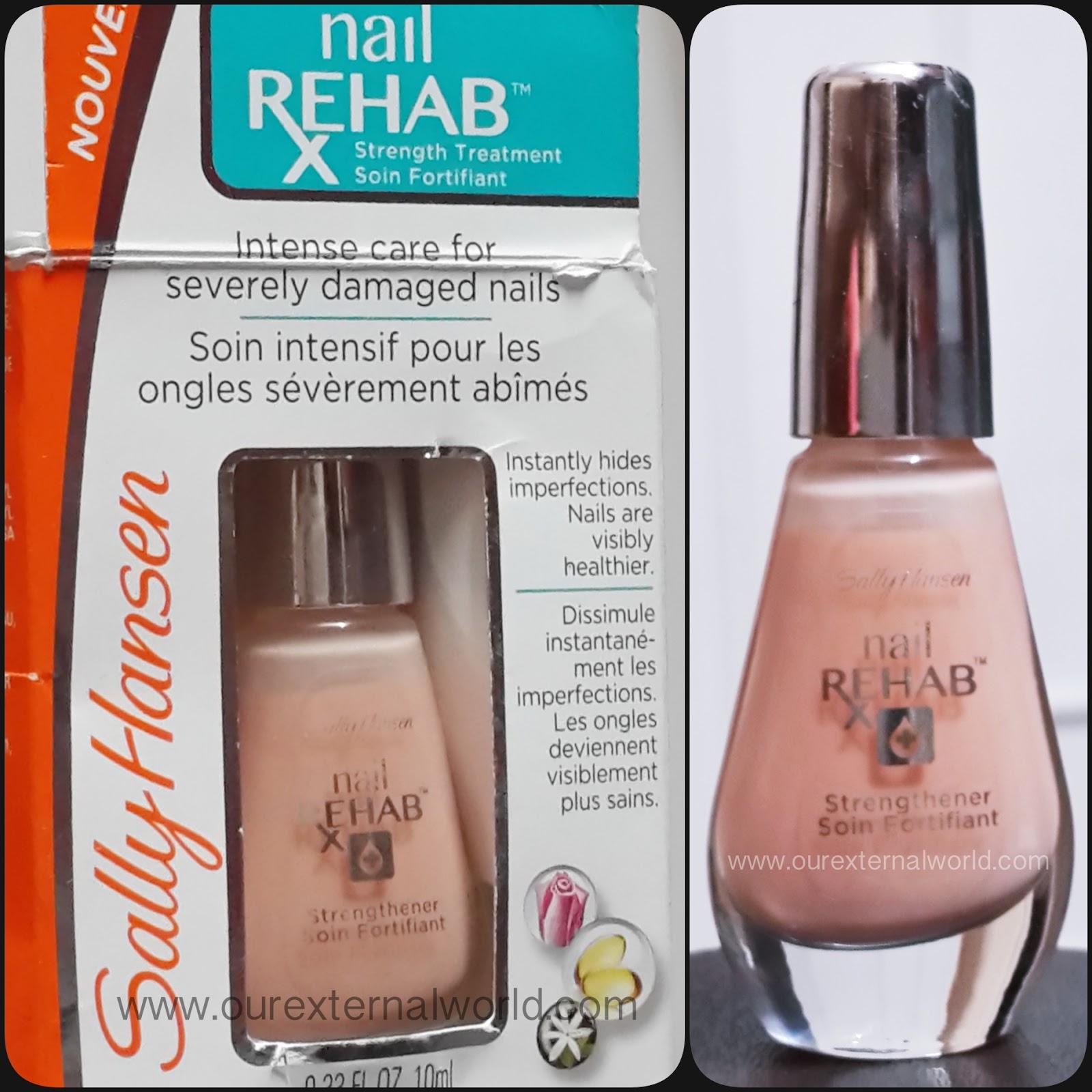 Sally Hansen Nail Rehab - Repair Damaged Nails - Review