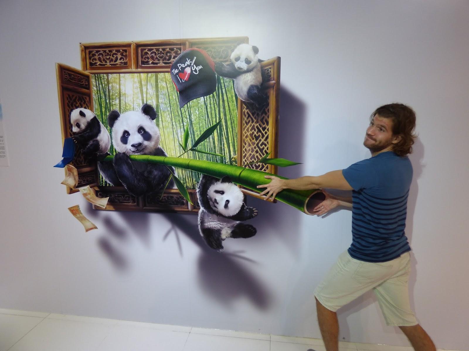 3D interaktív kiállítás