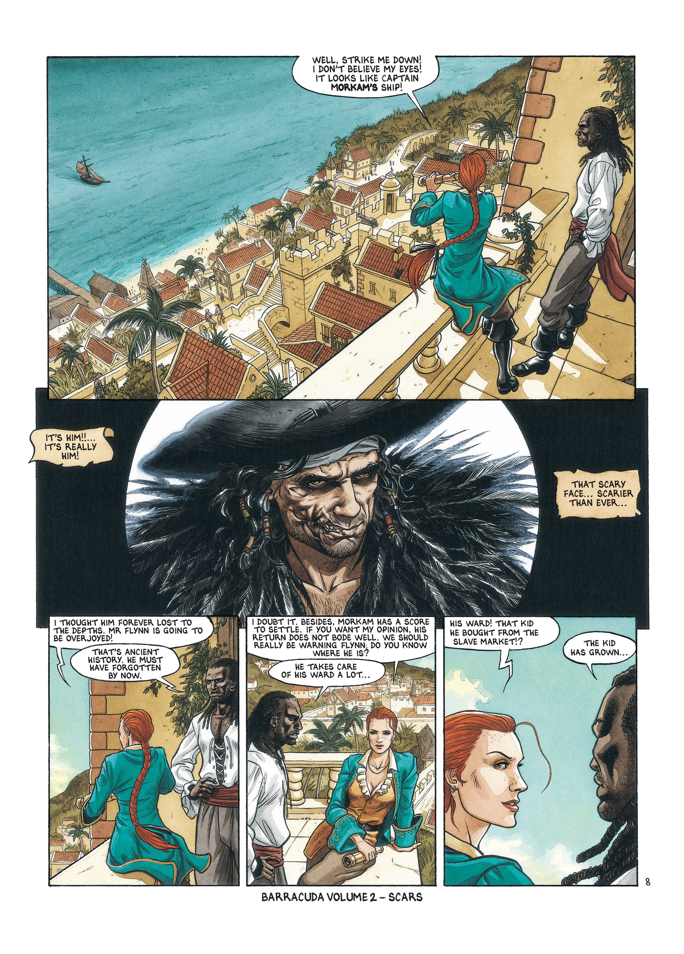 Read online Barracuda comic -  Issue #1 - 56