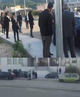 ΤΩΡΑ: Εκκενώθηκε το δικαστικό μέγαρο Ηγουμενίτσας μετά από τηλεφώνημα για βόμβα