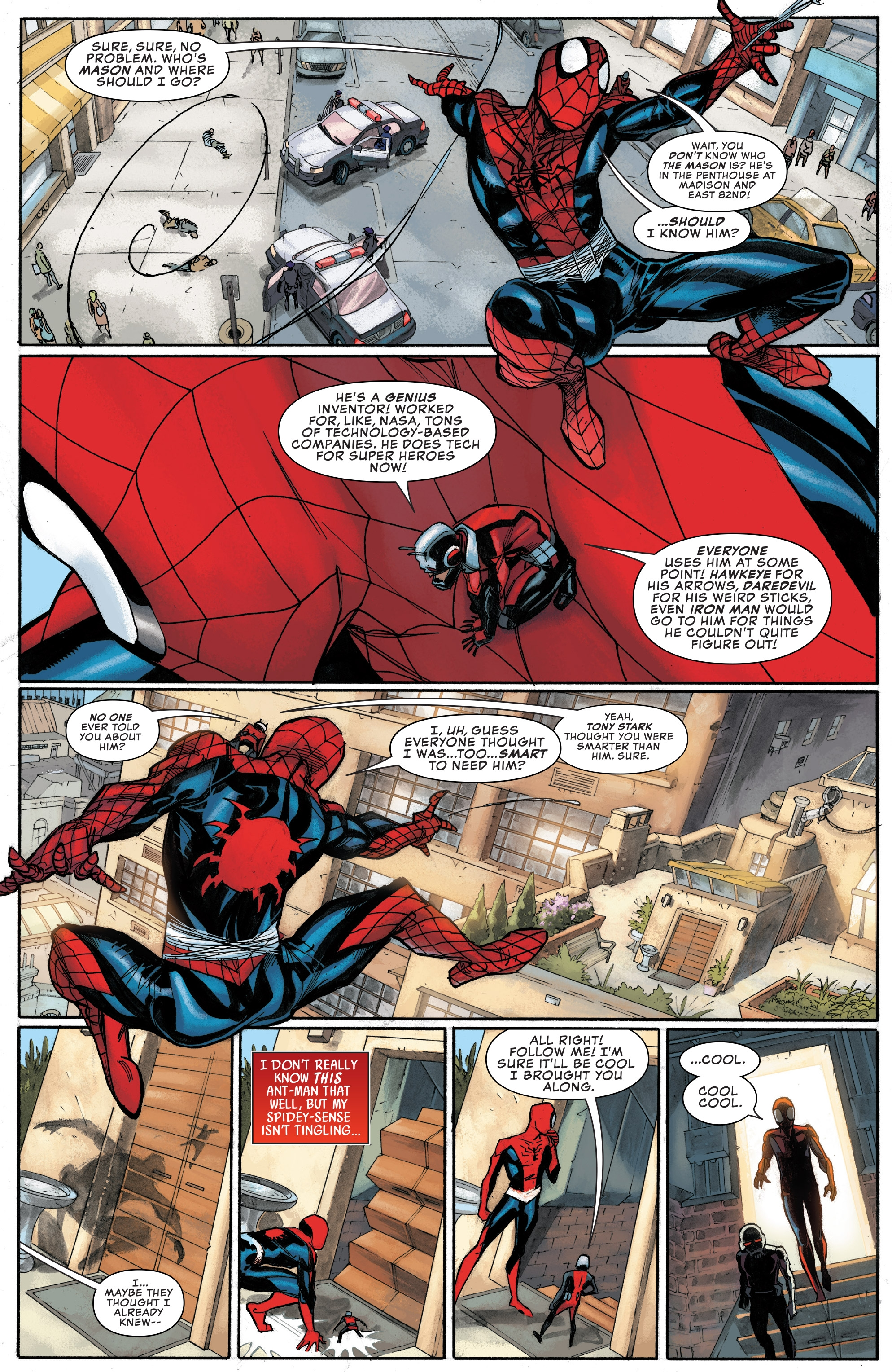 Read online Peter Parker: The Spectacular Spider-Man comic -  Issue #1 - 8