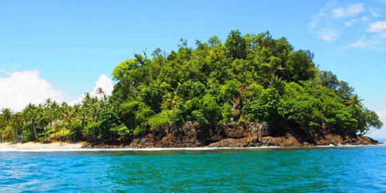 Pulau kumbang di pesisir selatan sumatera barat