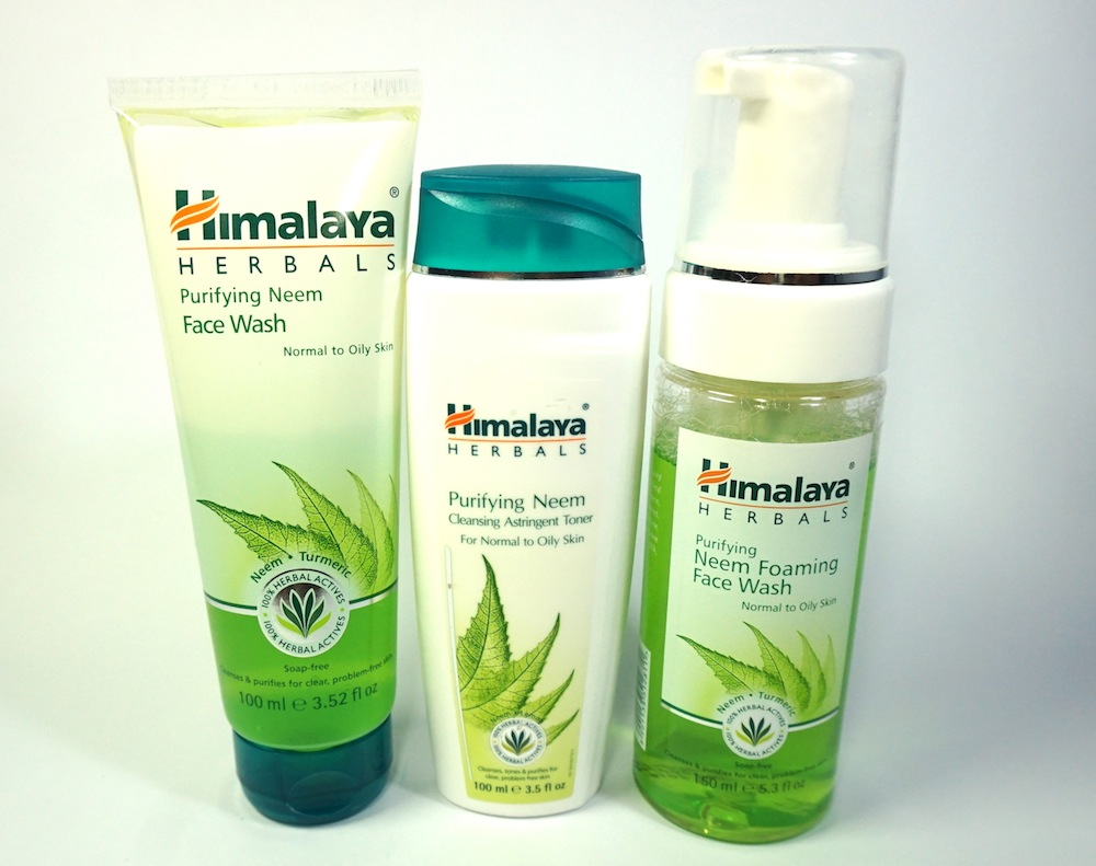 Himalaya Herbals Purifying Neem Skin Care Range Review Price The Beauty Junkee