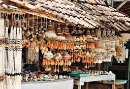 Tamasya dan Wisata Belanja di Pantai Baron, Gunung Kidul