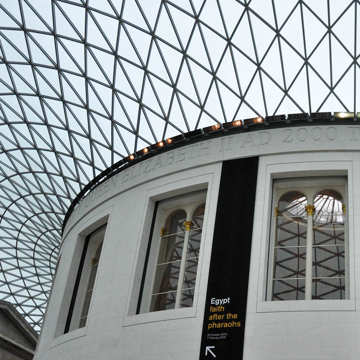 The Great Court, The British Museum, London, England
