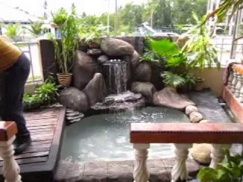 kolam hias kolam air mancur kolam minimalis kolam ikan