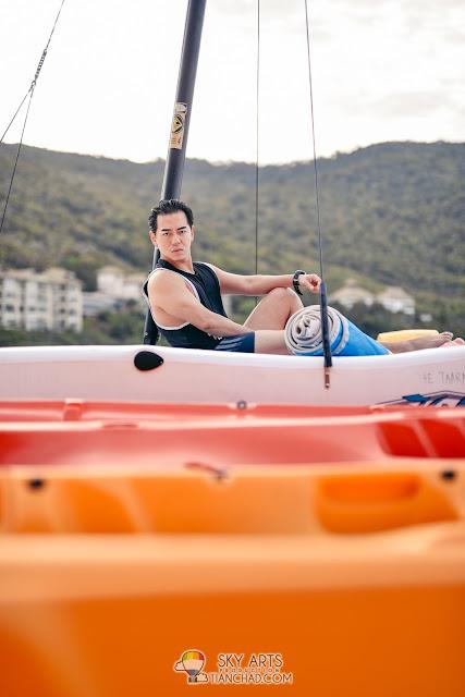 Sailing and Kayaking at The Taaras Redang Beach Spa Resort