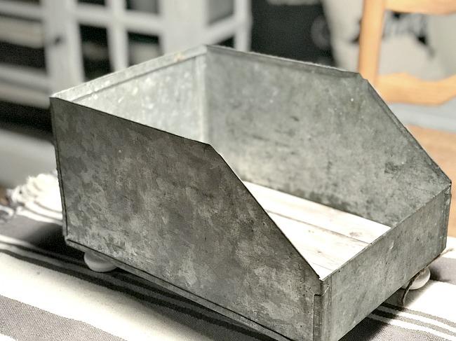 Galvanized Steel Bin Organizer