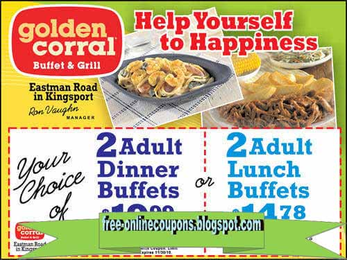 Golden Corral is a North Carolina based restaurant that offers buffet and grill meals, salads and desserts. Consumers review the restaurant very positively for its excellent quality and variety of food and good customer service.