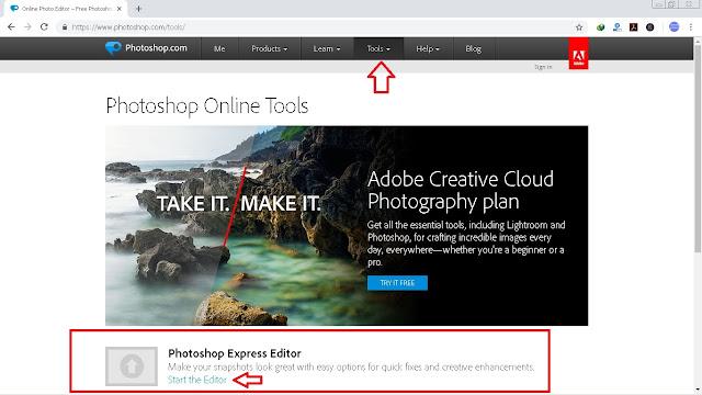 6 Langkah Cara Edit Foto Online Dengan Gratis