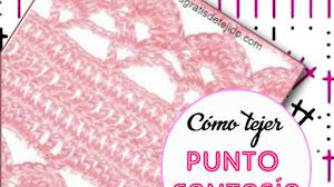 Cómo Tejer Punto Fantasía Crochet / Paso a paso