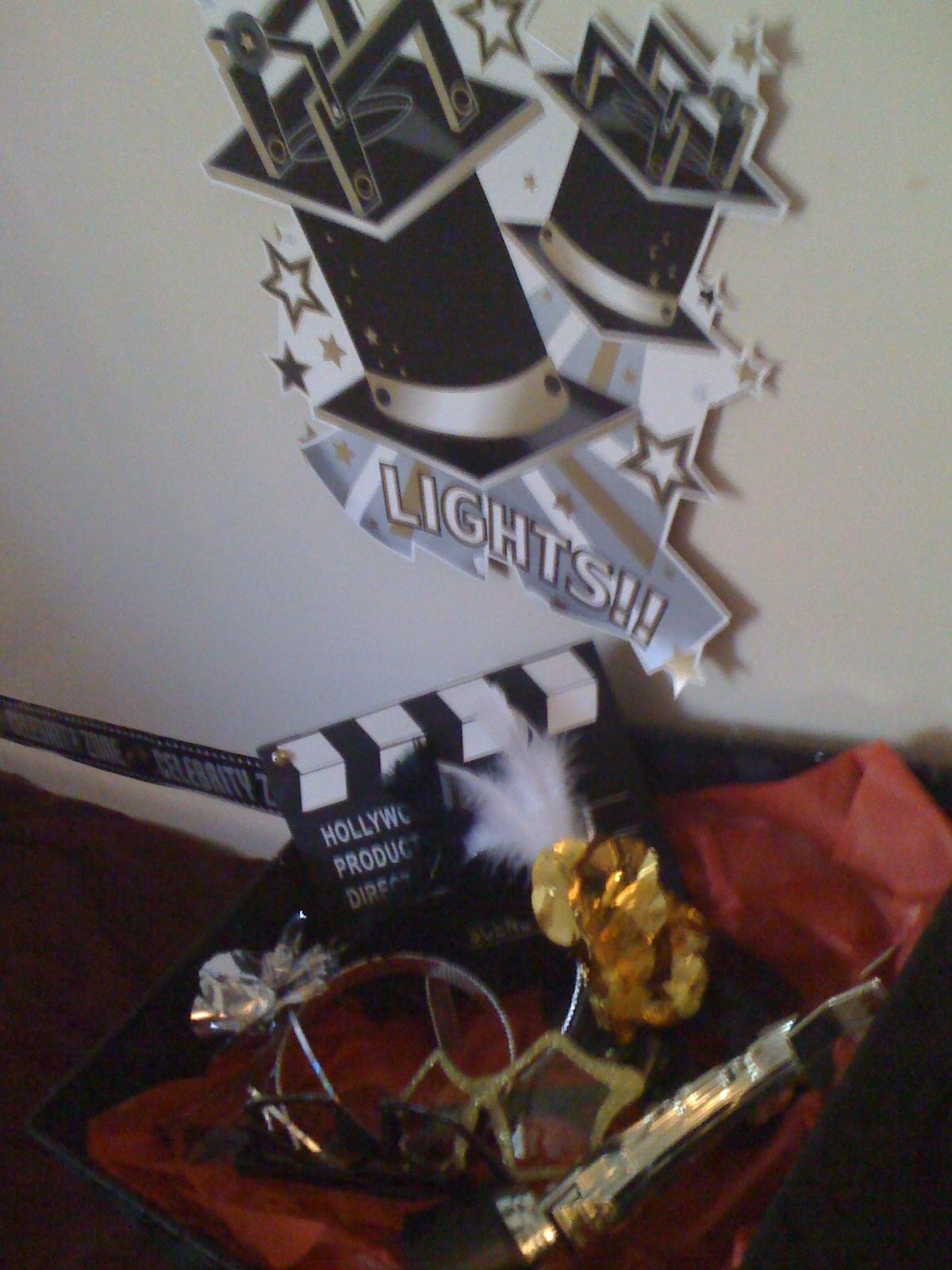In Flight Party Ideas: Movie Themed Birthday Party