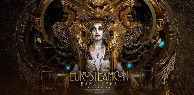 EuroSteamCon 2016 - European Steampunk Convention in Barcelona Spain October 2016