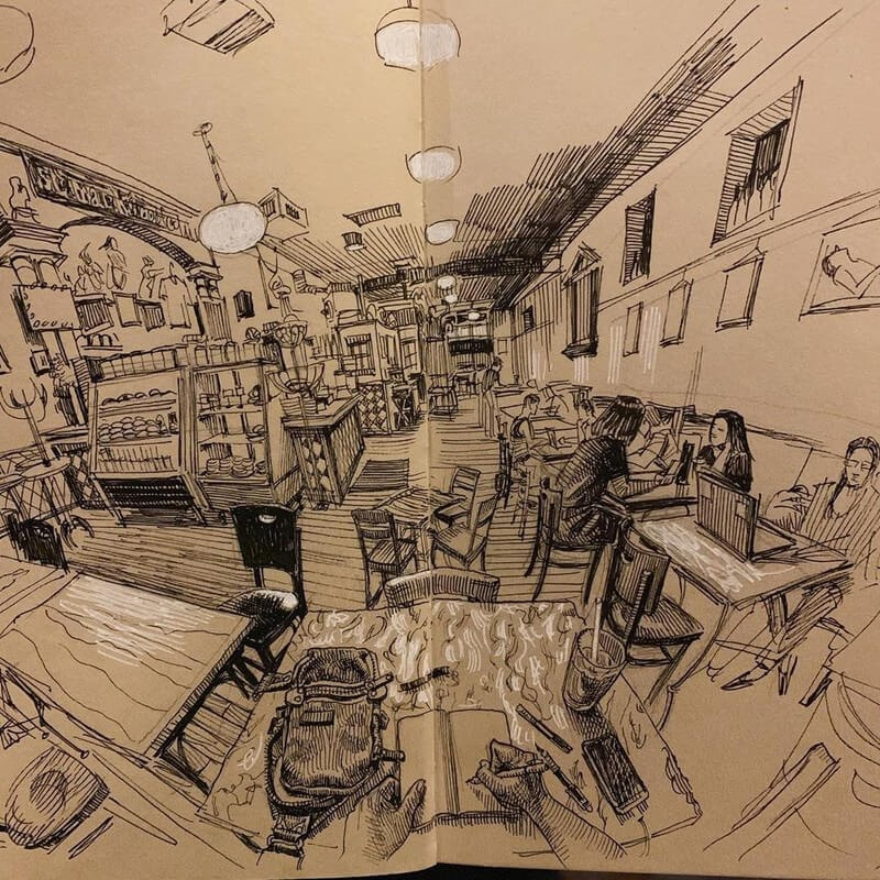 04-Paul-Heaston-Moleskine-Urban-Drawings-with-a-Point-of-View-www-designstack-co