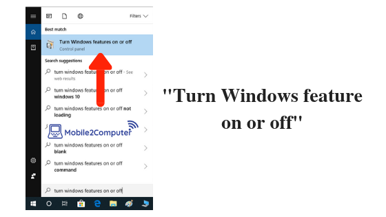 Resolve directx error using Turn Windows feature on or off