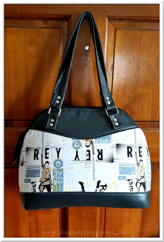 Custom Star Wars Handbag | 3 Garnets & 2 Sapphires