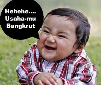 foto bayi funny banget