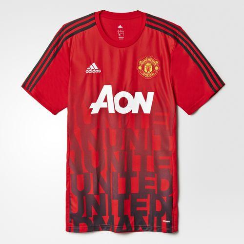 f87b6d6011 Veja a camisa pré-jogo do Manchester United
