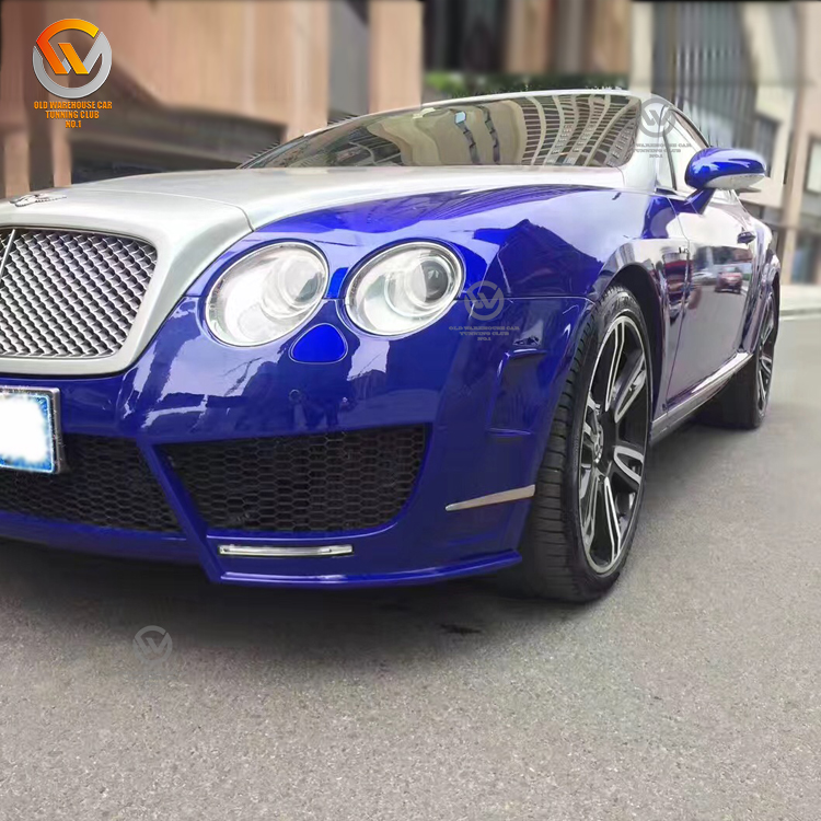 LCK Car Accessories: Mansory Sanguis Body Kit For Bentley
