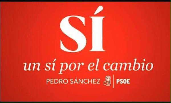 #UnSíPorElCambio