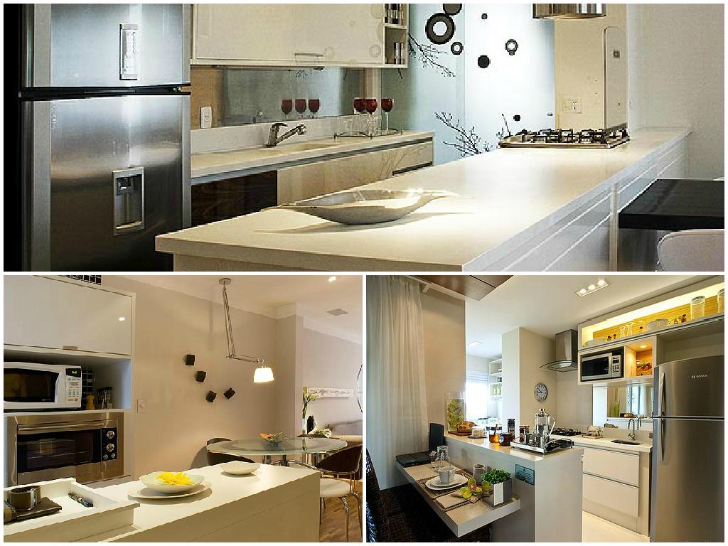 ideias decoração cozinha americana