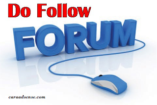 Daftar Forum Dofollow Yang Bagus Untuk Baclink