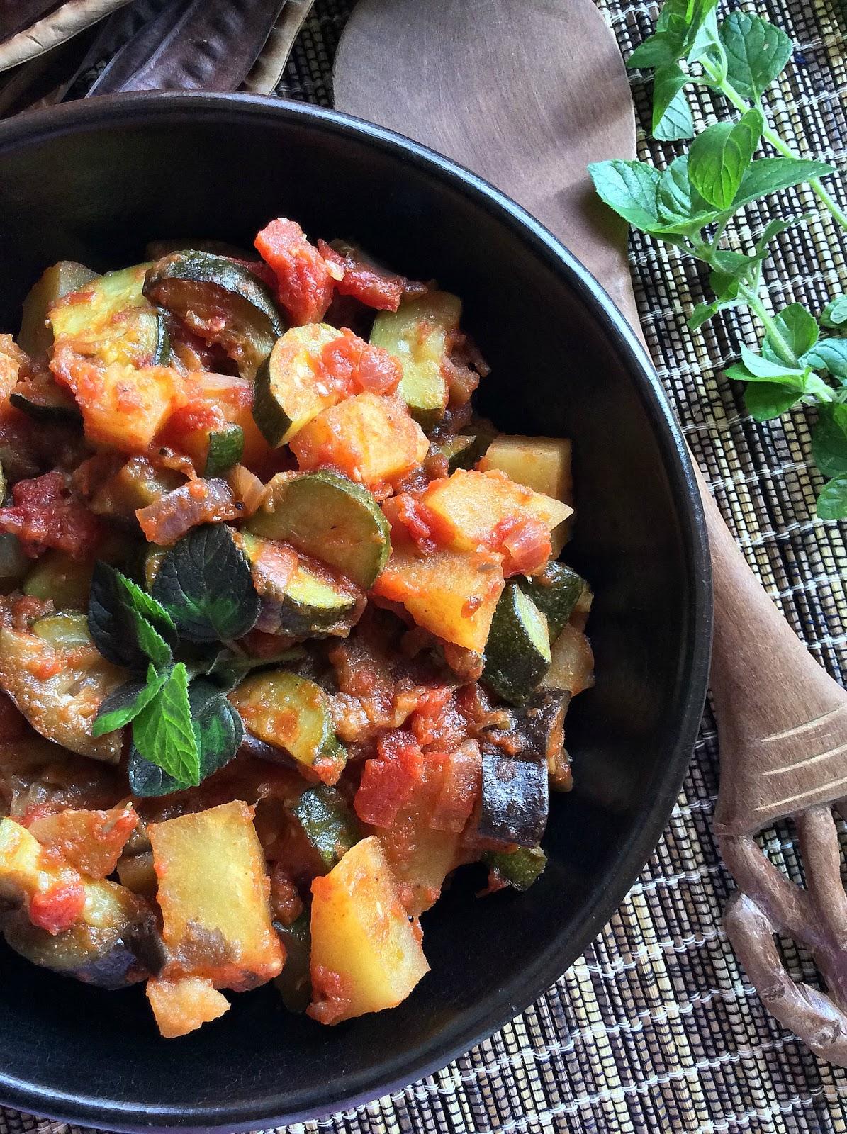 verdure al garam masala