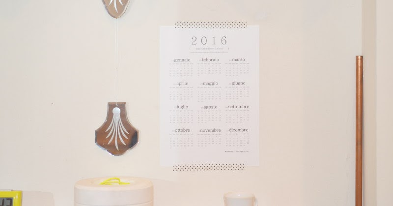 Calendar Reform Ideas : Lausnotebook mini calendario italiano free printable