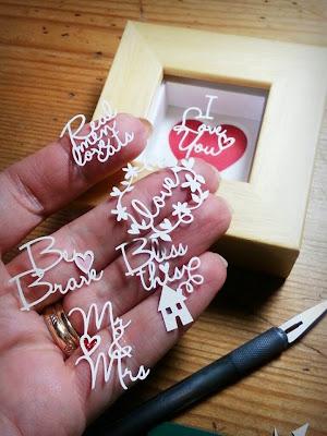 paper panda craft cuts letters