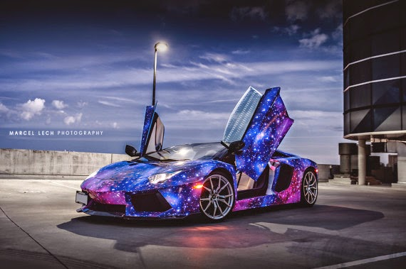 Lamborghini Aventador Galaxy Faded4u