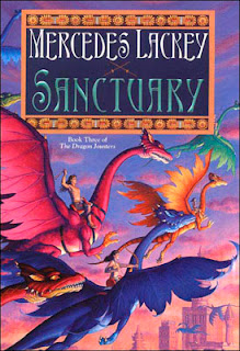Sanctuary (Dragon Jousters #3) by Mercedes Lackey | Epic Fantasy