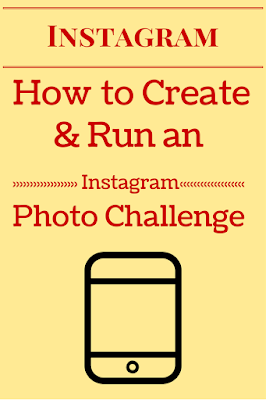 How to Tutorial run create instagram monthly photo challenge