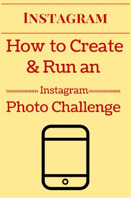 How to Tutorial run create instagram monthly photo challenge